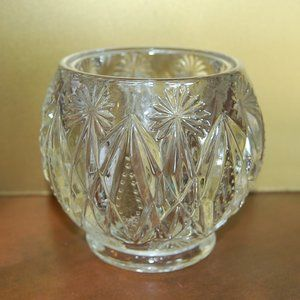 Avon 1972 Crystal Glow Candle Holder